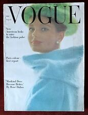 Vogue Magazine ~ September 1, 1962 ~ Marilyn Monroe Last Sitting Bert Stern Nice