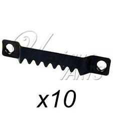 10 SELF-FIX SAW TOOTH FRAME HANGERS - PICTURE FRAMING