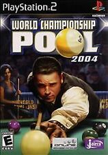 World Championship Pool 2004 (Playstation 2) Pro Re-Conditioned Disc Only