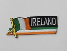 IRELAND IRISH QUALITY EMBROIDERED WORLD FLAG PATCH 3 INCHES