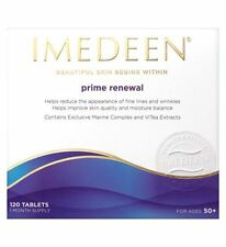 IMEDEEN PRIME RENEWAL Skincare 720 tablets, 6 months supply BNIB UK  exp2017