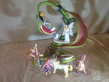 Schleich Elven Clubhouse SUNNY BLOSSOM Home of UNICORN, 5 FAIRIES & MAGIC OWL!