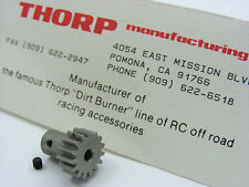 Vintage THORP Dirt Burners 4526 Extra Long 15T Pinion Tamiya Monster Beetle Frog