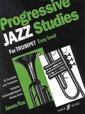 Progressive Jazz Studies for Trumpet, Bk 1 (Faber Music) Rae, James Paperback