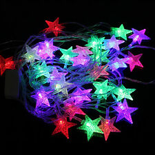 10M 70 Bulbs Star Berry Ball Fairy LED String Lights Christmas Xmas Party Tree