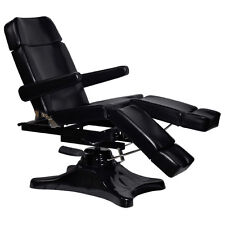 BLACK Tattoo Body Piercing Bed Chair Station Equipment