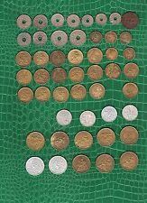Lot Frankreich- aus 1899 ä 1944 - 5 Cent bis 2 Franc   (  25357  )