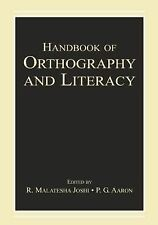 Handbook of Orthography and Literacy, , New Condition