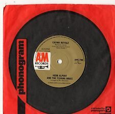 "Herb Alpert - Casino Royale 7"" Single 1967"