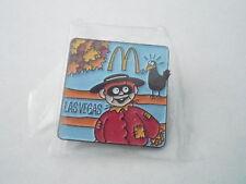 NOS Vintage McDonalds Advertising Enamel Pin #22 - HAMBURGLER SCARECROW - VEGAS