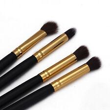 4Pcs Makeup Cosmetic Tool Eyeshadow Powder Foundation Blending Brush Set Tools