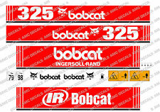 BOBCAT 325 MINI PELLE DECAL SET