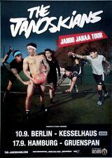 JANOSKIANS - 2015 - Tourplakat - Concert - Jahoo Jahaa - Tourposter