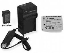 Battery + Charger for Canon SX200IS 1135B001 SX220HS SX230HS SD850 IS SD870 S100