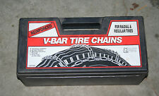 Quality Chain Co, V-Bar Reinforced Tire Chains, Model 1840