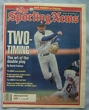 1995 Sporting News Baseball The Art of The Double Play