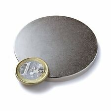 Super Magnete Disco al Neodimio diametro 60 x 5 mm Gauss 3800 Acqua Magnetizzata