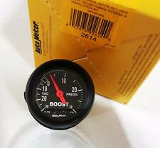 Auto Meter 2614 Z-Series Mechanical 30 Psi Boost / Vacuum Gauge 2 1/16""