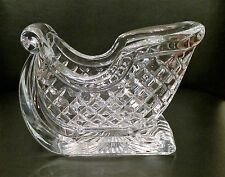 St. George Glass Crystal Sleigh