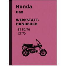 Honda Dax ST CT 50 70 Reparaturanleitung Werkstatt-Handbuch Anleitung ST50 CT70