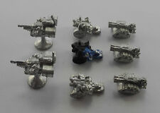 Epic 40K land speeders + thudd guns + lances imperial space marines 1980s PC4