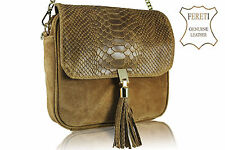 borse marrone leather handbag brown handtasche leder braun sac a main cuir