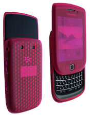 Housse SoftyGel Diamond rose Blackberry Torch 9800