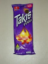 Takis Fuego by Barcel, Hot Chili Pepper & Lime Flavor Corn Chips, from Mexico !