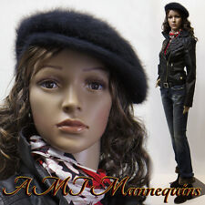 Female mannequins, display manequin+metal stand, fullbody manikin-Maria11+2wigs