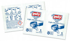Puly Caff Espresso Coffee Machine Cleaner Single Dose Sachets 120 x 3.5g Box