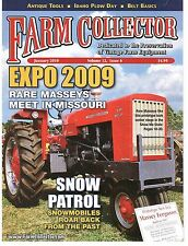 Flat belt basics, Antique Snowmobiles, Massey Expo 2009, Farm Collector Magazine