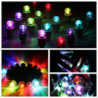 4 Pcs Multi Colour LED Neon Car Bike Wheel Tire Tyre Valve Dust Cap Spoke Lights