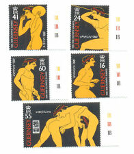 Guernsey-Olympic Games-mnh 1996-Art-