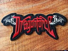 New Dragonforce Metal Rock Music Band Sew Iron On Embroidered Patch
