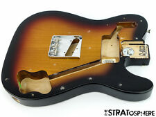 Vintage 72 Fender Custom Tele BODY & HARDWARE 1972 Telecaster Sunburst SALE!