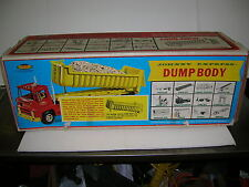 TOPPER TOYS JOHNNY EXPRESS DUMP TRAILER W/BOX PISTON MISSING