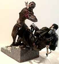 "The Order 1886 GALAHAD Versus Vs LYCAN 13"" inch immaculate statue figure piece"