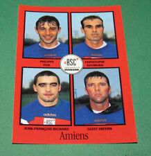 N°304 POIL RAYMOND RICHARD AMIENS SC ASC D2 PANINI FOOT 97 FOOTBALL 1996-1997