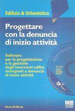 PROGETTARE DENUNCIA INIZIO ATTIVITà EDILIZIA URBANISTICA DI NICOLA SOFTWARE 2004