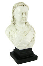Queen Victoria Marble-Like Mini Bust Statue English
