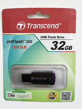Transcend JetFlash 360 32GB USB 2.0 Flash Drive Inc Free Recovery Software