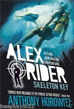NEW  (3) SKELETON KEY  - ALEX RIDER book  Anthony Horowitz NEW COVER blank