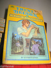 TRIXIE BELDEN #20 Mystery Off Old Telegraph Road SC 1985 SQUARE EDITION Kenny