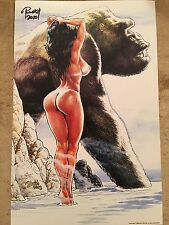 "CAVEWOMAN: JUNGLE TALES 2B Print (11""x17"") - [Signed by artist Budd Root]"