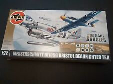 AIRFIX a50037 Messerschmitt BF109G & BRISTOL BEAUFIGHTER tf.x Dogfight Double