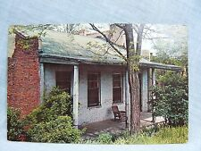 Postcard IL Old Shawneetown Ohio River House with Rocking Chair on Front Porch