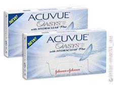 Acuvue Oasys Hydraclear PLUS 2x6 BC 8.4 GÜNSTIG !!!