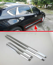Chrome Side Body Door Molding Cover Trim for 2016-2017 Nissan Altima ABS Protect