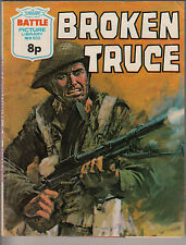 BATTLE -Picture Library 905- BROKEN TRUCE