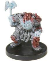 D&D Miniatures Dungeons & Dragons 40 Frost Dwarf C35